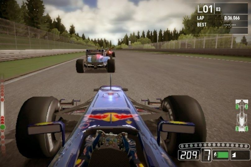 F 1 na Playstation Vita