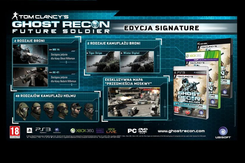 Ghost Recon: Future Soldier Edycja Signature