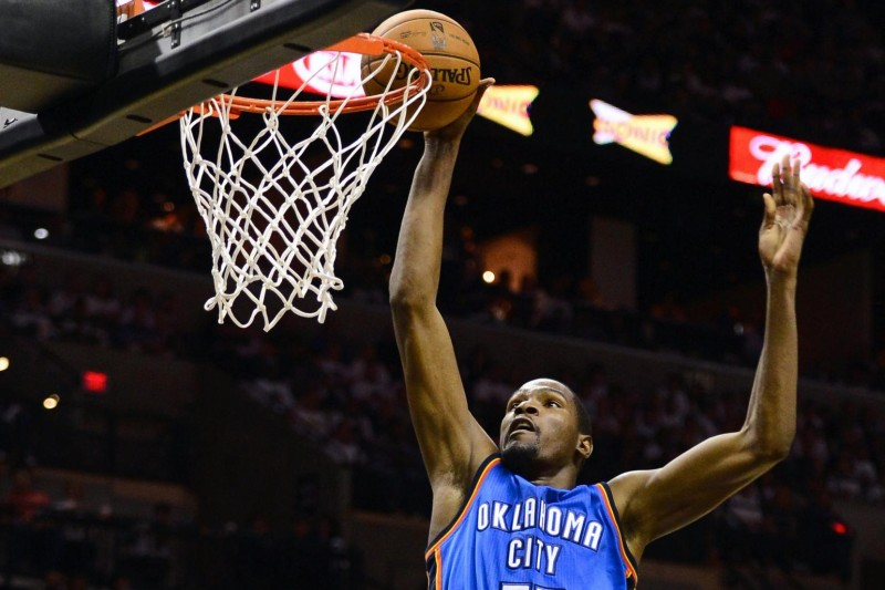 Kevin Durant (EPA/LARRY W. SMITH CORBIS OUT)