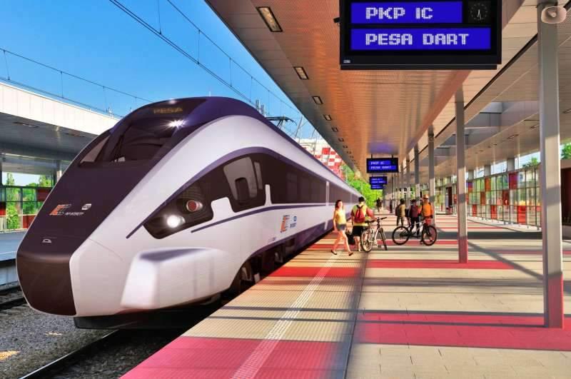 "Pociąg Pesa Dart nazywany jest ""polskim Pendolino"""