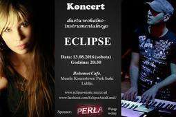 Koncert duetu Eclipse w Behemot Cafe