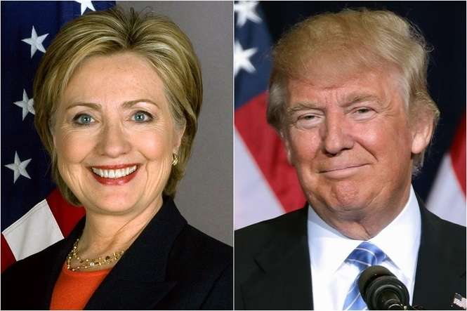 Hillary Clinton czy Donald Trump (fot. United States Department of State / Gage Skidmore)