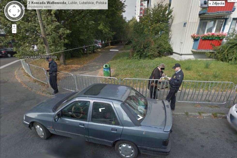 Galeria Nietypowe Zdjecia Z Google Street View Dziennik Wschodni