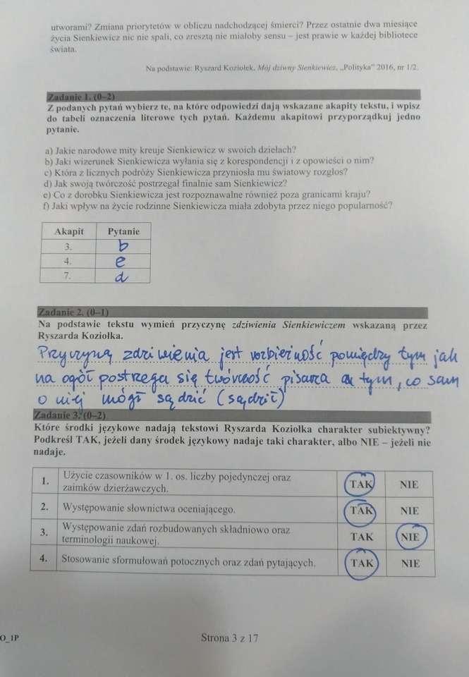 matura rozszerzona angielski praca pisemna