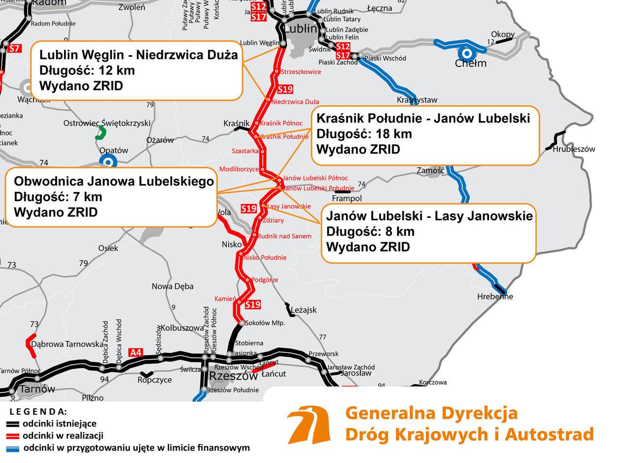 Ruszyly Prace Na Dwoch Odcinkach Trasy S19 Lublin Rzeszow Gddkia