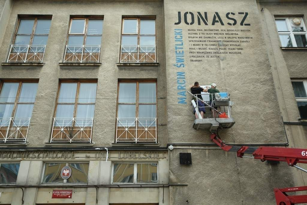 Miasto Poezji 2014 Wiersze W Mieście Wszędzie Dziennik