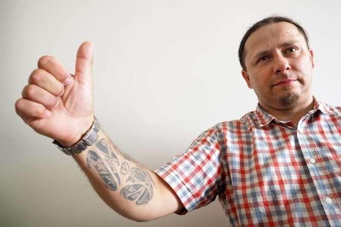 Tatuaż W Pracy Mieszkaniec Lubartowa Walczy O Oswojenie