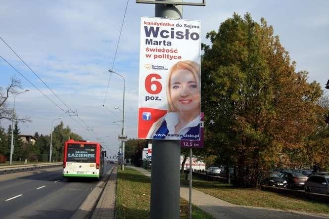 Reklam Wyborczych Na Latarniach W Lublinie Wieszać Nie Wolno