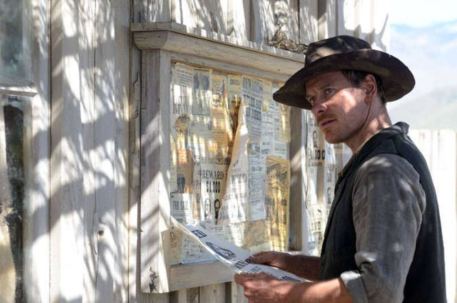 "fot. kadr z filmu ""Slow West"""