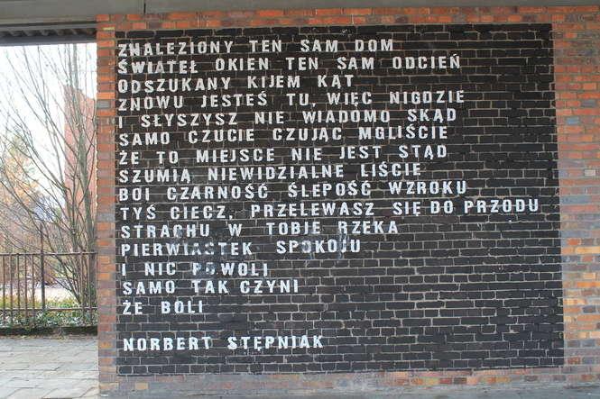 Wiersze Na ścianach Dworca Pks Puławska Lekcja Języka