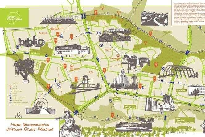 Mapa Sentymentalna Dzielnicy Czuby Poludniowe Dziennik Wschodni