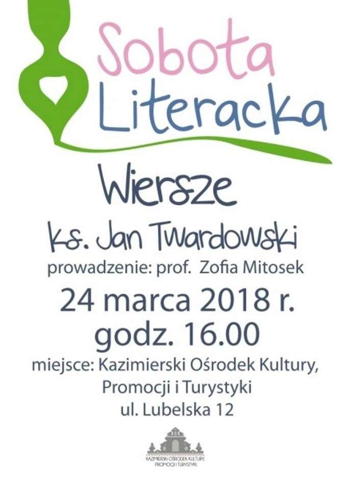 Kazimierz Dolny Wiersze Księdza Jana Twardowskiego Na