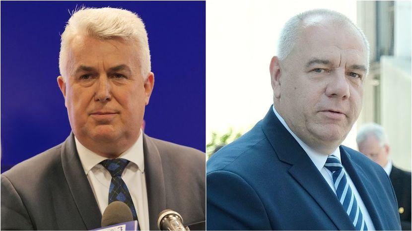 Sławomir Zawiślak i Jacek Sasin