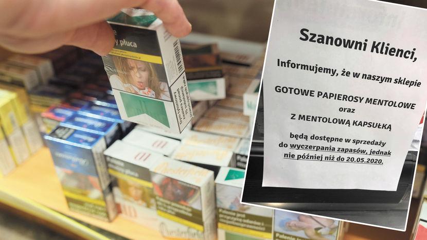 Palacze robią zapasy papierosów. Wkrótce wejdzie w życie zakaz sprzedaży  jednego z rodzajów - Dziennik Wschodni